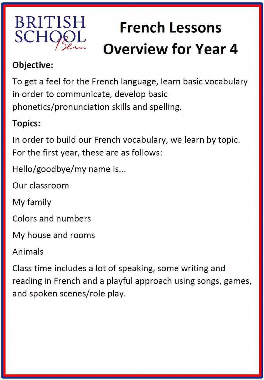 2019 In French Pronunciation